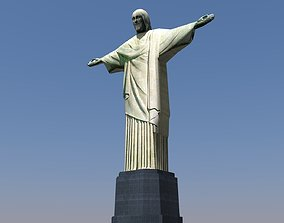 Christ the Redeemer 3D asset