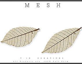 Autumn Leaf 02 3D model