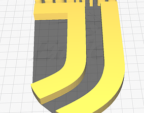 3D printable model JUVENTUS LOGO