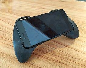 Gaming Grip-Pad for smartphones 3D print model