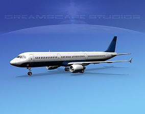 3D model Airbus A321 Corporate 5