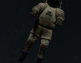astronaut suit 3D asset