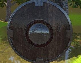 Medieval shield 3D