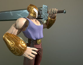 3D model Helios Rigged