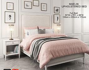 3D Maelin Upholstered Bed