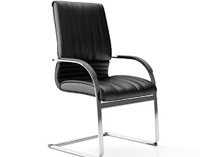 3D model Business Class Visitor Chair