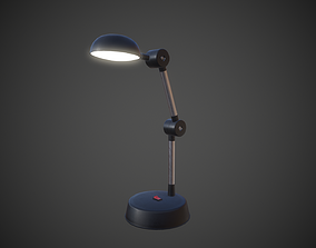 Desk Lamp 3D asset game-ready