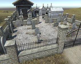 Graveyard Pack 1 3D model