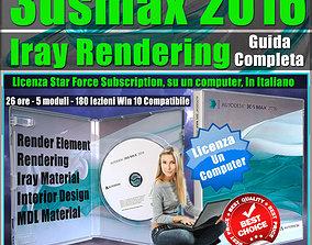 Corso 3ds max 2016 Iray Rendering Guida Completa 1