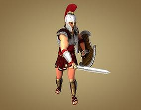 Swordsman 3D model