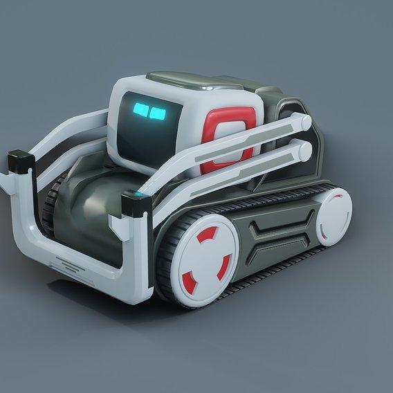 Cozmo the Robot 3D model
