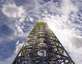 tower 100m 3D model
