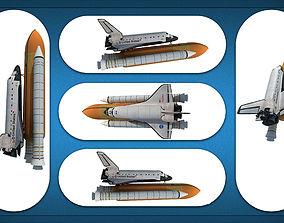 3D Space Shuttle Models