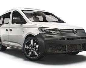 3D Volkswagen Caddy Combi 2021