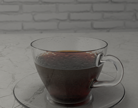 3D asset Cup of coffe