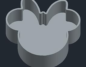 3D print model Minnie mouse form