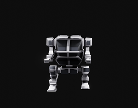3D model Mech Machine