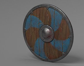 3D asset Viking Fantasy Shield