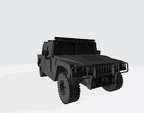 Hummer H1 3D Model Car Ready For Printing Stl File