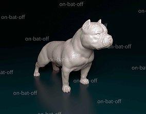 3D print model American Bully bully