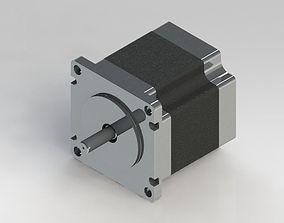 3D model Nema 23 stepping motor