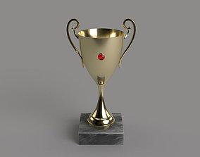 3D asset Trophy cup