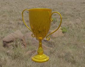 3D cup Golden Cup