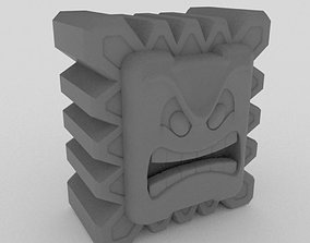 3D printable model Thwomp Super mario bros