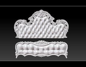 Bed 3D relief models 3d