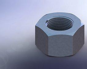 M12 NUT 3D print model