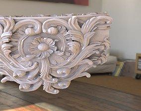 3D Baroque pattern 2