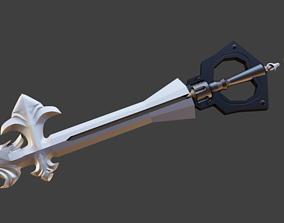 3D print model Kingdom Hearts 2 - Sleeping Lion Keyblade