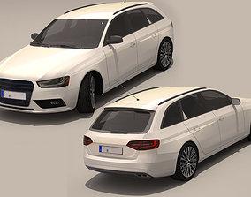 3D asset game-ready Audi A4