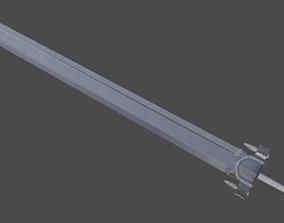 3D model Guts sword from Berserk