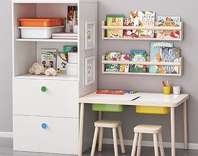 3D children art and study place