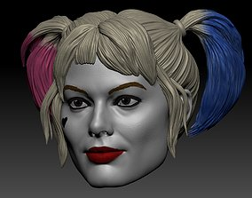 Harley Quinn Margot Robbie DC 3D print model