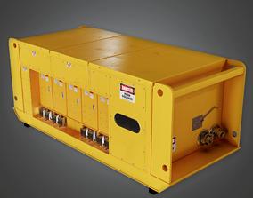 IND - Mine Generator Box - PBR Game Ready 3D model