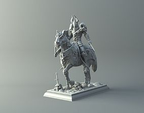 diy Warrior on horse - kit for 3D printing
