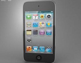 3D asset Apple iPod Touch 4