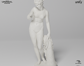 3D model Venus with the Apple Sculpture VR AR Mobile-ready