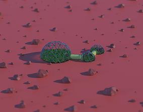 Mars Base 3D model