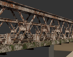 3D asset Old Modular Bridge