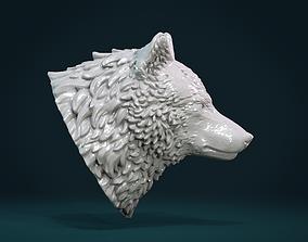 Wolf Head III 3D printable model