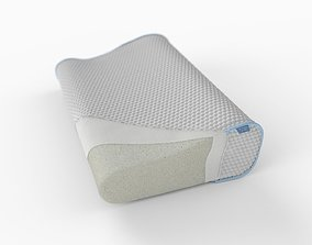 3D model Pillow with inside layers
