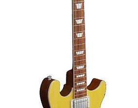 3D model Electric Guitar Gibson