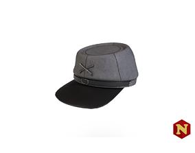 3D asset Confederate Civil War Hat