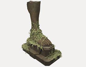 3D model Foot Statue