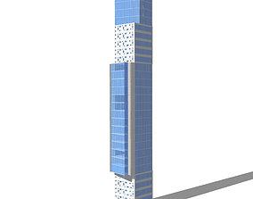 3D Commercial high-rise 01
