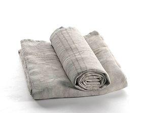 Towel Set 01 3D