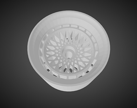Rotiform LHR-M rims for Hot Wheels 3D print